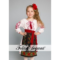 Costum National Moldovenesc pentru fetita Nr.1
