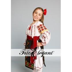 молдавский национальный костюм для девочки Nr.2