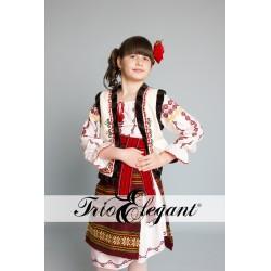 молдавский национальный костюм для девочки Nr.3