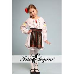 молдавский национальный костюм для девочки Nr.4