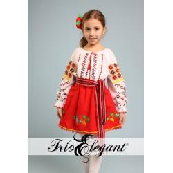 молдавский национальный костюм для девочки Nr.5