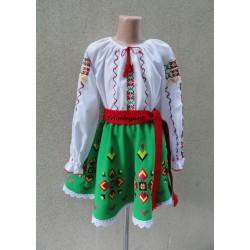 молдавский национальный костюм для девочки Nr.6