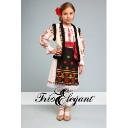 молдавский национальный костюм для девочки Nr.7