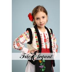 молдавский национальный костюм для девочки Nr.8