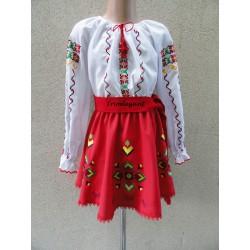 Costum National Moldovenesc pentru fetita Nr. 11