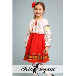 Costum National Moldovenesc pentru fetita Nr. 9