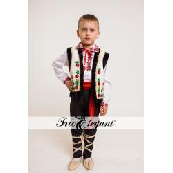 Costum National Moldovenesc pentru baieti 7