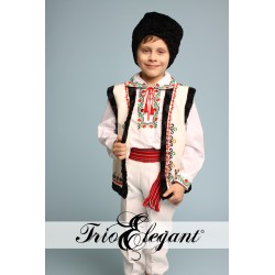 Costum National Moldovenesc pentru baieti 10