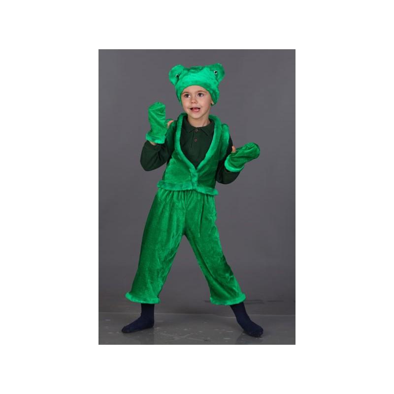 Карнавальный костюм Царевналягушка Батик для девочек